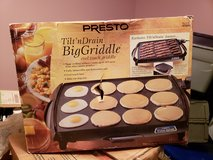 New In Box Presto Griddle! in Byron, Georgia