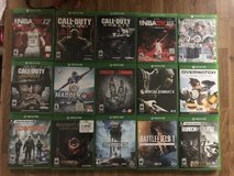Xbox one games 15 in total all good used condition in Lakenheath, UK