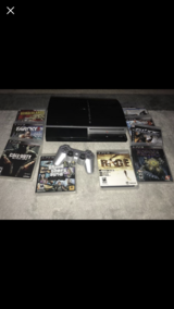 PS3 w/games in Beaufort, South Carolina