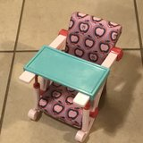 "18"" Our Generation Doll Clip On High Chair in Travis AFB, California"