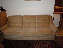 Vintage retro sofa bed couch 2 armchairs top condition, like new in Ramstein, Germany