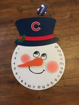 Cubs Christmas countdown in Shorewood, Illinois