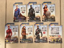Hot Wheels DC Universe Justice League 2017 Complete Set Of 7 Cars New in Travis AFB, California