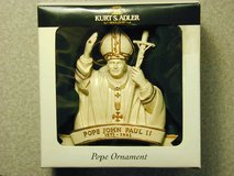 Pope John Paul II Christmas Tree Ornament in Bartlett, Illinois
