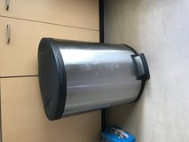 Stainless steel trash can (45L) in Okinawa, Japan