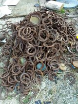 !! 200 Horseshoes For Craft, Yard Art !! in 29 Palms, California