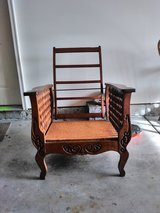 "Antique Wooden ""Morris"" Manual Recliner Frame in Chicago, Illinois"