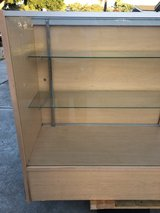 Display case with 2 glass shelves. in Los Angeles, California
