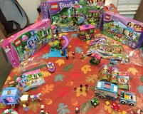 Lego Friends Jungle Rescue Base, Summer Caravan, Disney's Cinderella's Dream Carriage in Fairfield, California