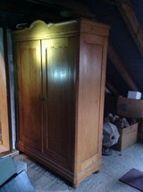 1880-antique Closet -red. in Ramstein, Germany