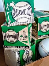 antique Softball's new in box..NOS in Cherry Point, North Carolina