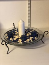 """Candle stand decoration 13"""" diameter in Ramstein, Germany"""