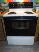 "30"" Electric Frigidaire Range With Ventless Hood in Wilmington, North Carolina"