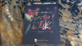 Joe Satriani, Eric Johnson, and Steve Vai Live TAB Book in Fort Leonard Wood, Missouri