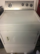 Large Whirlpool Gas Dryer 220V only used 3 years! in Wiesbaden, GE