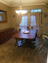 Dining room set in Kingwood, Texas