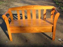 Bench for Storage in Fort Leonard Wood, Missouri
