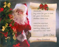 Santa Photo Letter in Conroe, Texas