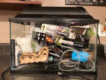 5 Gallon Fish Tank With All Accessories in Yorkville, Illinois