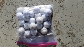Assorted golf balls in Fort Campbell, Kentucky