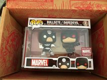 Funko Pop! Marvel Bullseye / Daredevil 2-pack with box - Marvel Collector Corps exclusive in Nashville, Tennessee