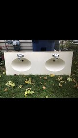 double sink and faucets in Lockport, Illinois