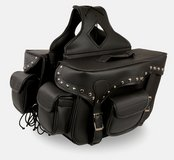 Leather Motorcycle Saddlebags in 29 Palms, California