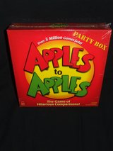 Apples To Apples Game by Mattel 2007 Version NEW in Lockport, Illinois