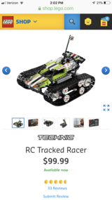LEGO Technics RC Racer new in box in Nellis AFB, Nevada