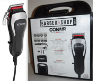New! Conair Barber Shop Series Professional Hair Clippers ~20pc Haircutting Kit in Orland Park, Illinois