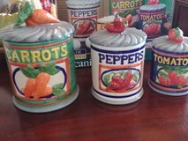 Farmhouse Canisters in Pearland, Texas