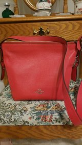 Authentic Red Coach Purse in Fort Leonard Wood, Missouri