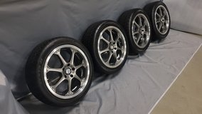 "18"" rims 5x114,3 All-Season 225/45 R18 Jap and US-cars in Baumholder, GE"
