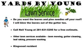 Fall Leaf Clean-up - Lawn Service (Kingwood) in Kingwood, Texas