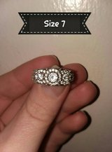 Gorgeous silver diamond wedding/engagement ring in Fort Leonard Wood, Missouri