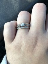 white gold diamond ring in DeRidder, Louisiana