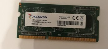 4 GB, PC3L-12800S, DDR3L RAM in Ramstein, Germany