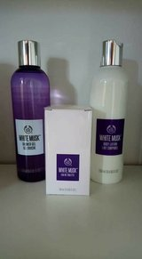 white musk set brand new in Lakenheath, UK