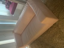 pink leather sofa - good condition in Morris, Illinois