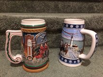 Budweiser Christmas Steins in Fairchild AFB, Washington