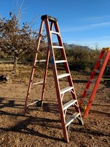 Werner 8' fiberglass step ladder in Alamogordo, New Mexico