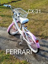 "RARE FERRARI CX-31 ... 20"" girls  bike in Cherry Point, North Carolina"