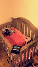 Baby wooden crib in Fairfield, California