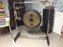 "30"" Ludwig Gong in Shorewood, Illinois"