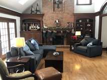 Couch Sectional and chair in Batavia, Illinois