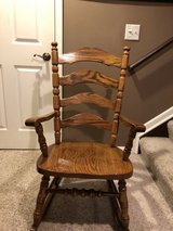 Wood Rocking Chair in Chicago, Illinois