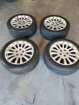 18 Inch Cadillac rims and tires in Fort Leonard Wood, Missouri
