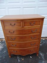 Vintage Huntley Tallboy Dresser in Sugar Grove, Illinois