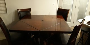 Alpine Counter Height Extendable Dining Table / Counter Height Dining set in Bolling AFB, DC