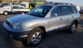 2004 Hyundai Santa Fe VGT Gold in Camp Humphreys, South Korea